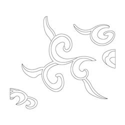 범어사 사천왕상 - 기본디자인