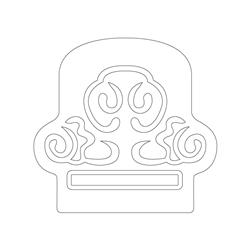 귀면문막새