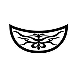 건릉 비각 암막새