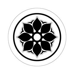 꽃문 수막새