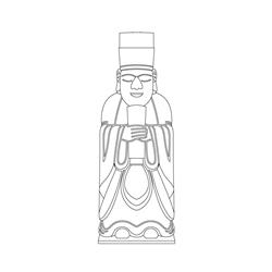 인선왕후릉 문인석