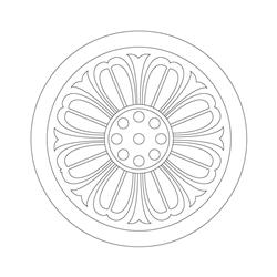 연꽃무늬수막새