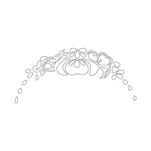 꽃문,잎사귀문