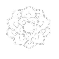 봉정사 일주문 - 원시문양