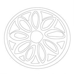 도제떡살 - 원시문양
