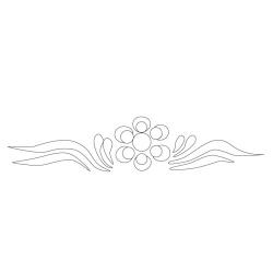 거동사 산신각 - 원시문양