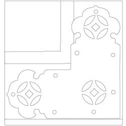 태안사 삼성각 - 원시문양