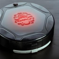 꽃문 활용 로봇 청소기