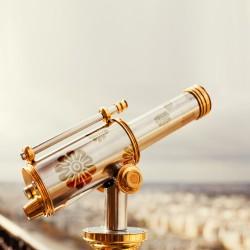 꽃문 활용 망원경