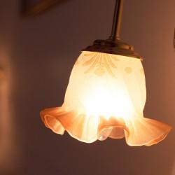 풀꽃문 활용 전등