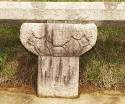 명릉 난간 - 원천유물