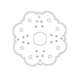 금속장식 - 원시문양