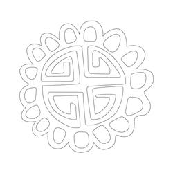 문양판 - 원시문양
