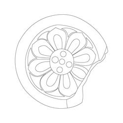 연꽃무늬수막새 - 원시문양