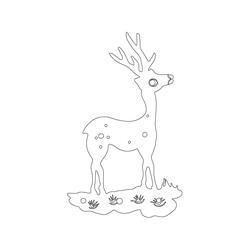 반닫이 백동장석 - 원시문양