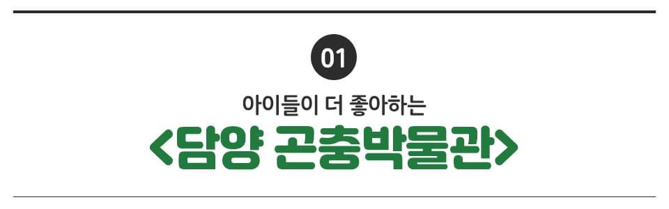 01 아이들이 더 좋아하는 <담양 곤충박물관>