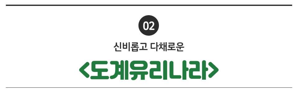 02 신비롭고 다채로운 <도계유리나라>