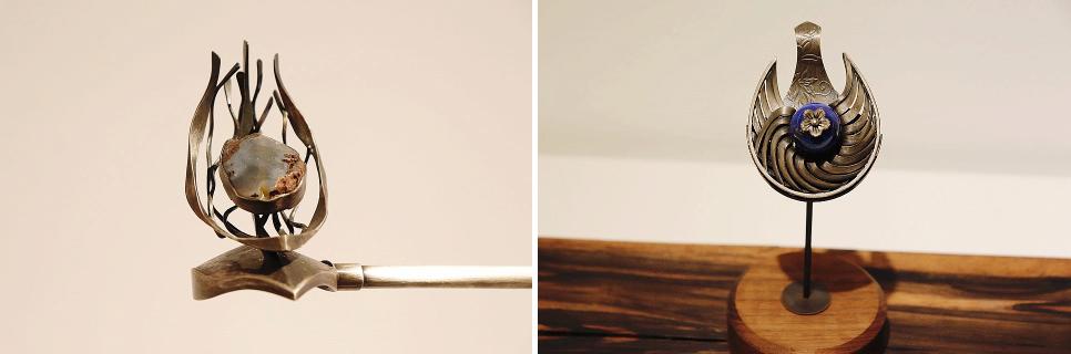 혜경궁의 머리장식들 ⓒ문화포털블로그기자단 이영미
