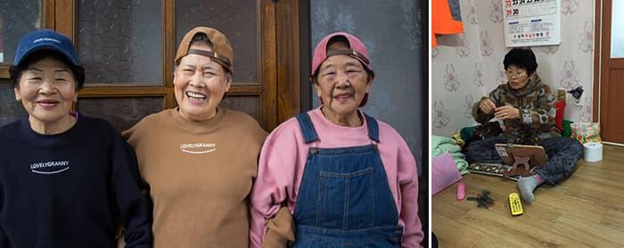 Lovely Granny 캠페인, 할머니들 사진 / 팔찌 제작중이신 할머니 ⓒ마르코 로호