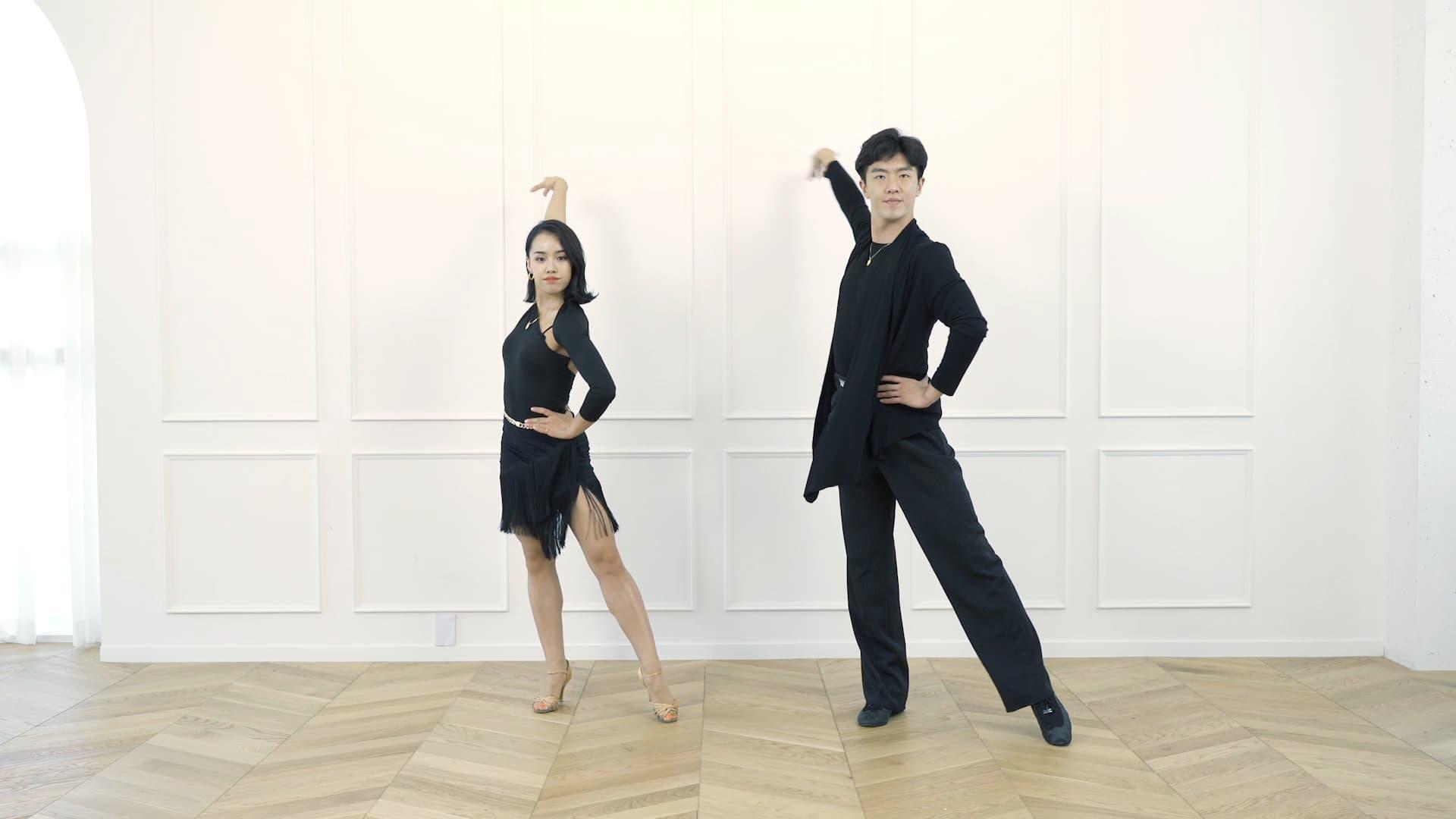 여성체육활동지원 - 국가대표와 함께하는 랜선 댄스스포츠(차차차) [대한체육회]