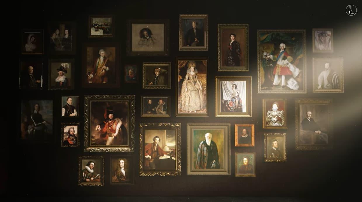 [시대의 얼굴, 셰익스피어에서 에드 시런까지 ] '76명의 삶'과 그들을 그린 '초상화'