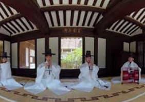 창덕궁에서 펼쳐지는 궁중예술, 무대 위에서 직접 즐기는 실감나는 360º VR 공연