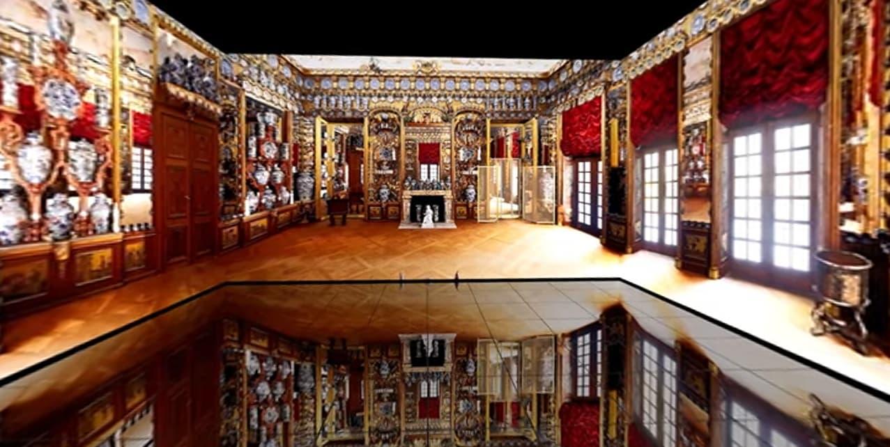 [세계문화관 세계도자실] 유럽의 성을 가득 채운 '동양 도자기의 방' 실감 체험