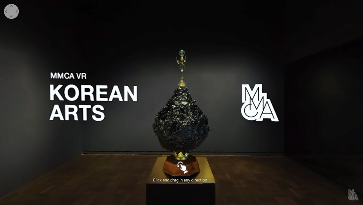 MMCA VR  달빛 왕관_신라 금관 그림자 이수경