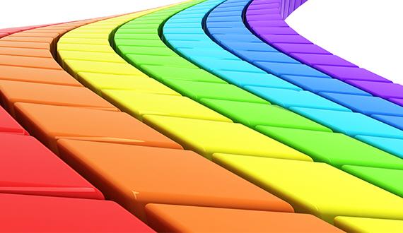거리에 색을 채우다