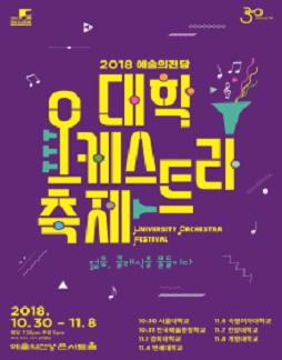 2018 예술의전당 대학오케스트라축제